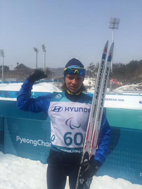 Українські лижники здобули ще дві медалі Паралімпіади-2018