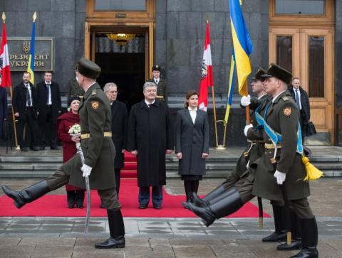 Розпочалася зустріч Президента України з Федеральним Президентом Республіки Австрія