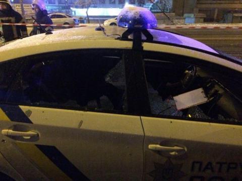 У Києві чоловік кинув гранату в патрульних