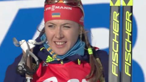Українка Джима виграла бронзу в спринті на Кубку світу з біатлону