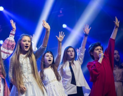 Марина Порошенко відвідала генеральну репетицію фіналістів конкурсу «Яскраві діти України»
