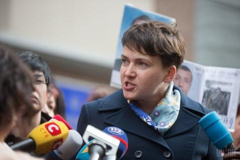 """Савченко внесли в базу сайту """"Миротворець"""""""