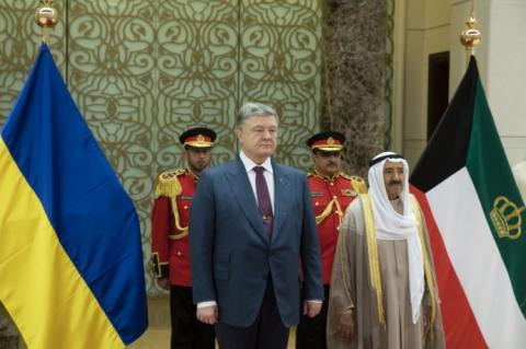 Порошенко домовився з Кувейтом про постачання озброєння