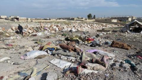Росія завдала авіаударів по табору біженців у Сирії, є жертви