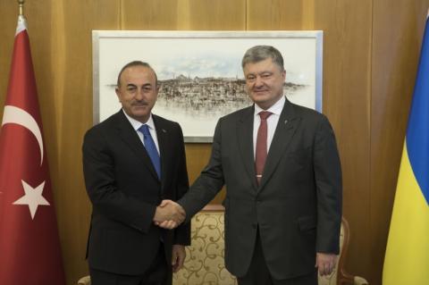 Президент України у Стамбулі провів зустріч з Президентом Туреччини