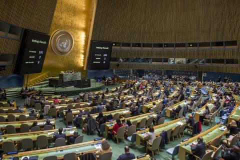 РФ в ООН пригрозила США наслідками в разі удару по Сирії