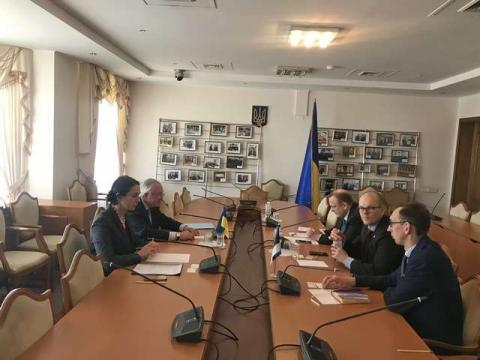 У Комітеті у закордонних справах відбулася зустріч з делегацією Естонської Республіки