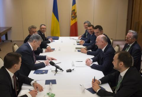 Президент України провів зустріч з Прем'єр-міністром Республіки Молдова