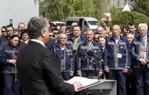 Президент про подолання наслідків Чорнобильської катастрофи: Сьогодні ми тут для того, щоб гарантувати подальшу безпеку українцям, всім європейцям
