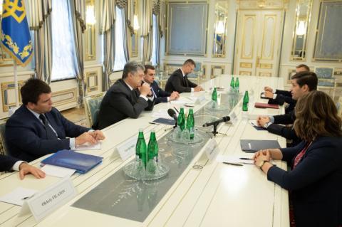 Президент провів зустріч із Помічником Державного секретаря США