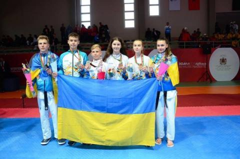 Президент привітав спортсменів-школярів, які вибороли перше місце на ХVІІ Всесвітній літній Гімназіаді