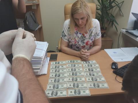 Суддю Окружного адмінсуду Києва спіймали на хабарі у $2 тисячі (ФОТО)