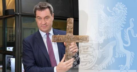 У Баварії поставлять хрест на вході в громадські будівлі