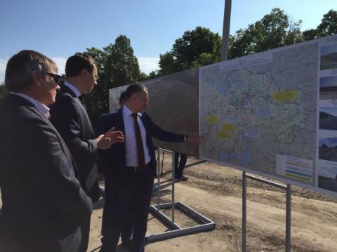 Побудова Південного обходу м. Дніпра є одним із найважливіших проектів для області, – Володимир Омелян