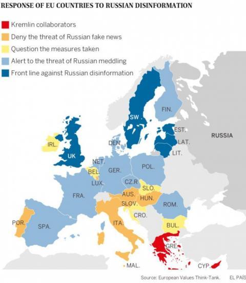 """Велика Британія краще за Францію й Німеччину протистоїть """"дезі"""" з РФ"""