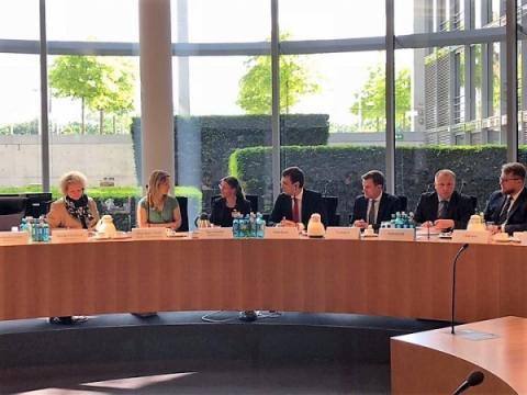 Володимир Омелян провів зустріч із депутатами Бундестагу