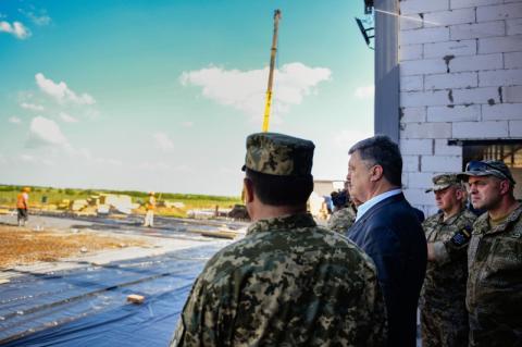 Президент поставив завдання ввести в експлуатацію першу чергу комплексу полігону «Широкий Лан» восени цього року