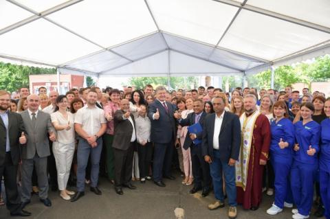 Президент про інвестиції компанії «Дельта Вілмар»: Це нові робочі місця, нові платежі до бюджету та високий технологічний рівень переробки продуктів українського аграрного сектору