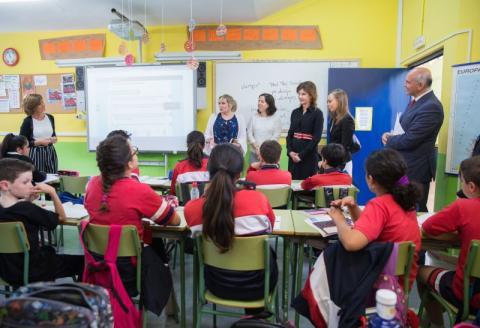 В Іспанії Марина Порошенко домовилася про обмін досвідом та методичними рекомендаціями у галузі інклюзивної освіти