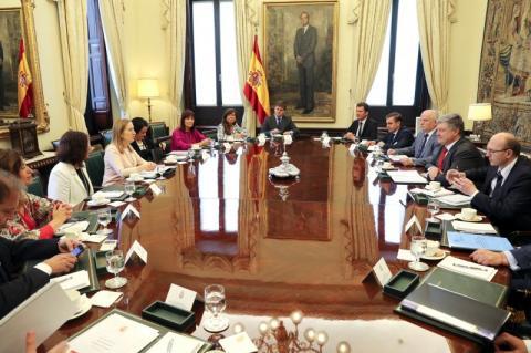 Президент України провів зустріч з Головою конгресу депутатів Королівства Іспанія