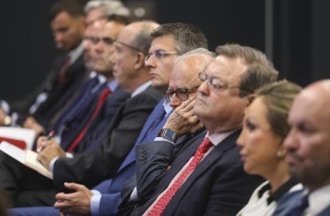Запрошую вас бути співавторами та співзасновниками українського успіху – Президент на зустрічі з представниками іспанського бізнесу