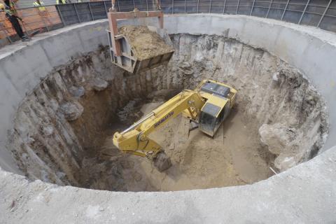 Швидше в одинадцять разів: У Дніпрі розпочали роботи з будівництва підземних стволів метрополітену