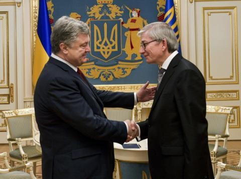 Президент України провів зустріч з Президентом Світового Конгресу Українців