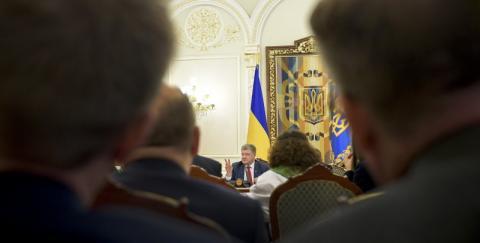 Президент України зустрівся з делегацією Політико-безпекового комітету ЄС