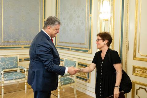 Президент України зустрівся з послами країн Великої сімки та Європейського Союзу