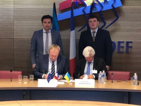 25 червня 2018 року в Парижі пройшла зустріч високого рівня Українсько-Французької Ділової Ради