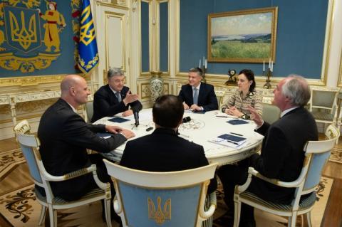 Президент провів зустріч із керівництвом компанії «Unilever»