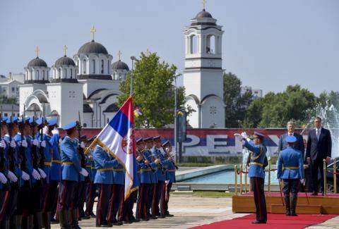 У Белграді розпочалася зустріч Президентів України та Сербії