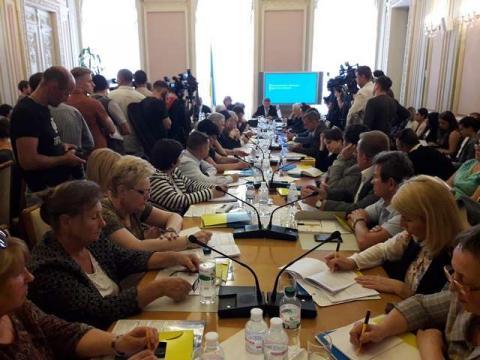 Комітети з питань соціальної політики, зайнятості та пенсійного забезпечення та з питань охорони здоров'я заслухали звіт Міністерства охорони здоров'я про хід медичної реформи в Україні