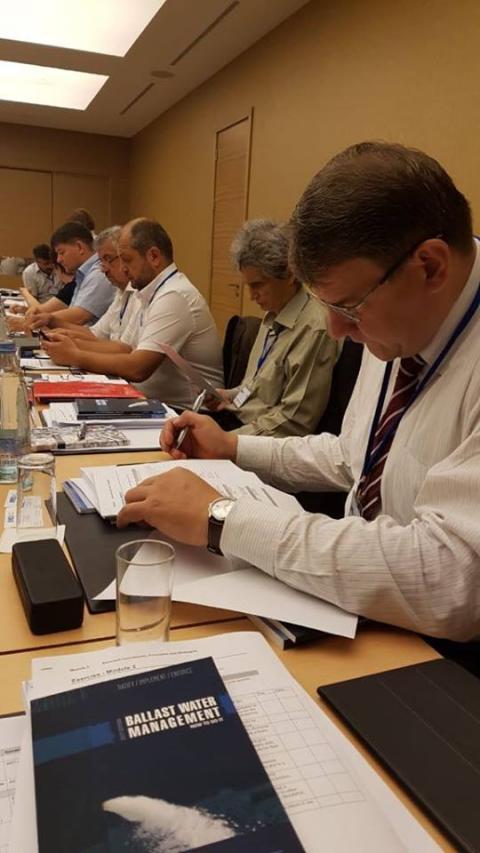 Українська делегація взяла участь у регіональному семінарі ІМО, присвяченому Міжнародній конвенції про контроль суднових баластних вод і осадів та управління ними 2004 року (BWM 2004)