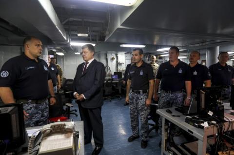 Президент України зустрівся з Головнокомандувачем Збройними Силами США в Європі генералом Кертісом Скапаротті