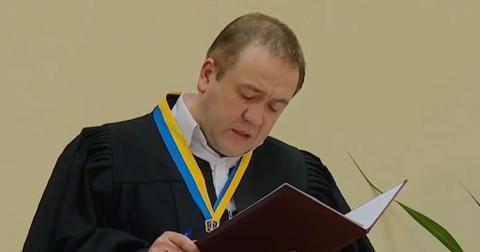 Суддя отримав попередження за неправильне формулювання