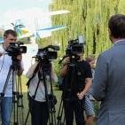 Володимир Омелян привітав першокурсників Національного авіаційного університету із посвятою у студенти