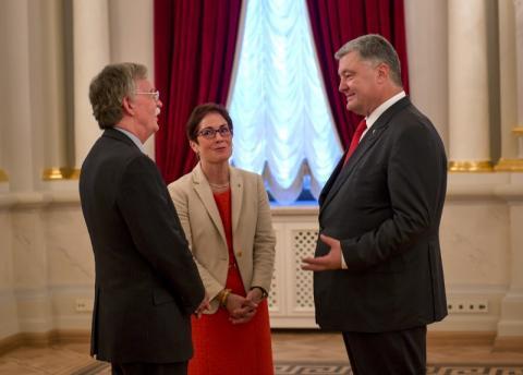 Президент України провів зустріч з Радником Президента США з питань нацбезпеки