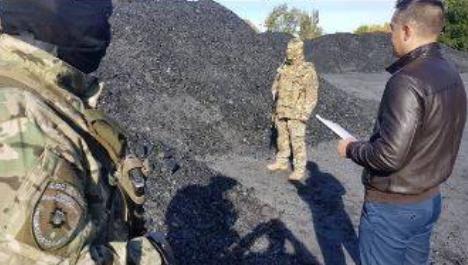 На Луганщині ДФС вилучила незаконно добуте вугілля на понад 5 млн гривень