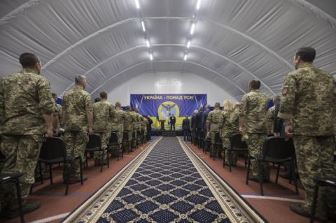 Президент привітав воєнних розвідників із 26-ю річницею створення служби