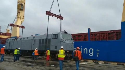 Перший локомотив General Electric уже в Україні
