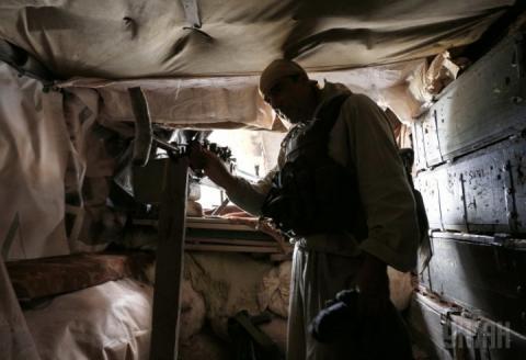 На території окупованого Донбасу ворог відкривав вогонь 38 разів, – штаб ООС