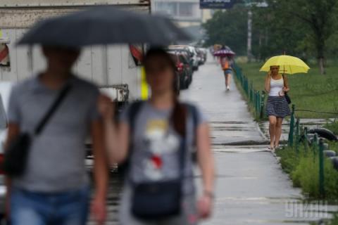 Сьогодні у більшості областей України – сильні дощі та грози