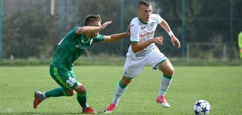 Молодіжна команда «Карпат» вдома обіграла полтавську «Ворсклу» в матчі 8-го туру першості України
