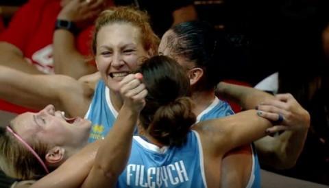 Жіноча збірна України зі стрітболу виграла «бронзу» Євро-2018
