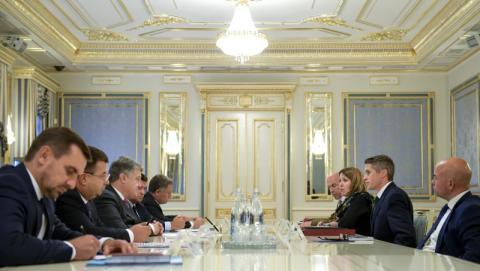 Президент України прийняв Державного секретаря з питань оборони Великої Британії