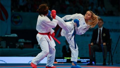 Карате: Терлюга виграла етап Karate1 Premier League в Берліні