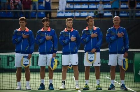 Збірна України з тенісу в Кубку Девіса піднялася на дві позиції в рейтингу націй