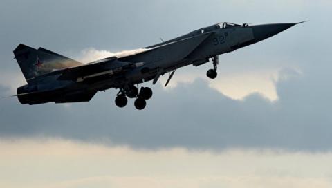 В Росії розбився надзвуковий винищувач