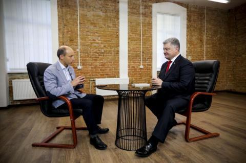 Президент про надання автокефалії українській Церкві: Робота над Томосом почалася з моєї першої зустрічі з Патріархом Варфоломієм